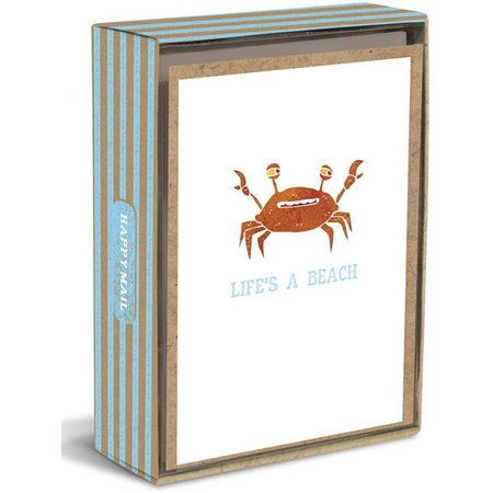Graphique Life's A Beach Boxed Note Cards