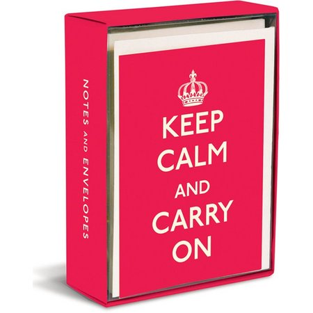 Graphique Keep Calm Boxed Note Cards