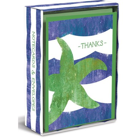 Graphique Weathered Starfish Boxed Note Cards