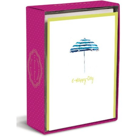 Graphique O Happy Day Umbrella Boxed Note Cards