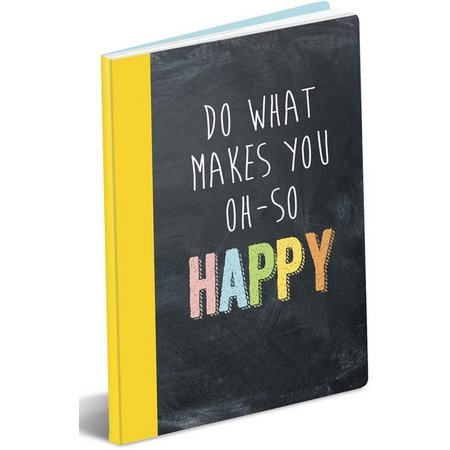 Graphique What Makes You Happy Paper Journal