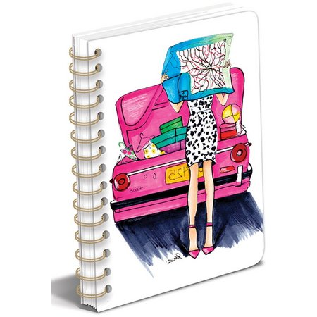 Graphique Fashion Chic Spiral Bound Journal
