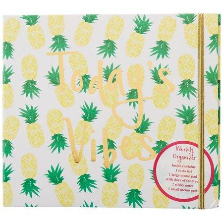 Tri Coastal Palm Beach Chic Pineapple Organizer