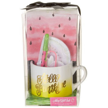 Tri Coastal Hello Sunshine Mug Gift Set