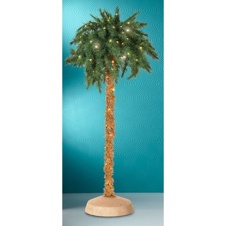 5 Foot Lighted Palm Tree