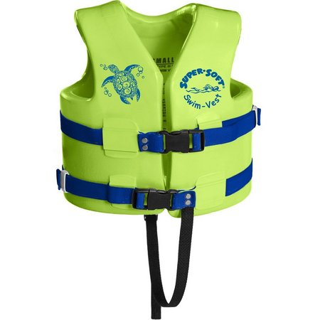 Super Soft Sea Turtle Small Child Swim Vest