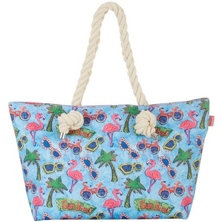Leoma Lovegrove Sun Shack Rope Tote Bag