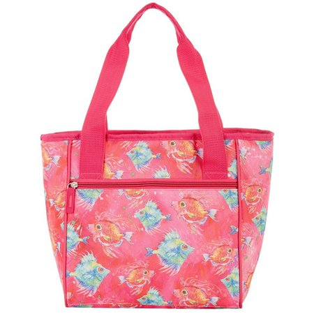 Leoma Lovegrove Fish 16 Can Cooler Tote