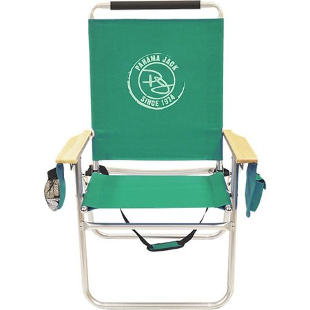 Panama Jack Green Logo Beach Chair