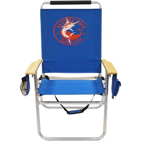Panama Jack Marlin Royal Blue High Back Chair