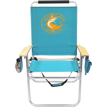 Panama Jack Marlin Turquoise High Back Chair
