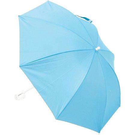 Rio 4' Solid Chair Clamp Beach Umbrella