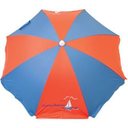 Tommy Bahama 6-Foot Red & Blue Beach Umbrella