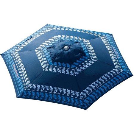 Rio Brands 7' Blue Palm Market Umbrella