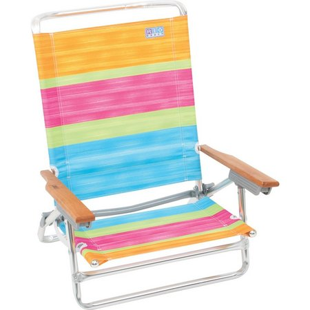 Rio Bright Stripe Beach Chair