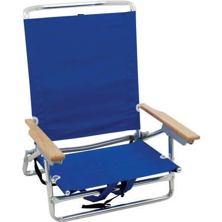 Rio Brands Ocean Blue Backpack Beach Chair
