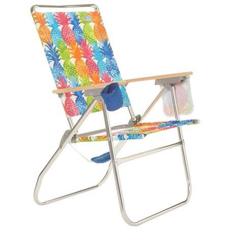Rio Brands Pineapple Hi-Boy Beach & Backyard Chair