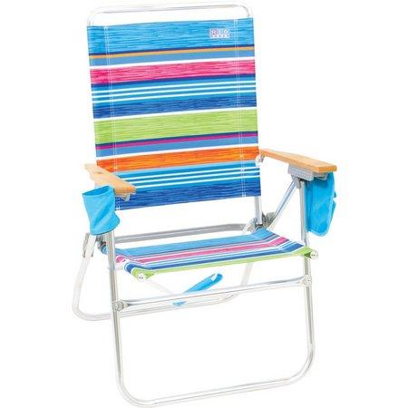 Rio Brands Hi-Boy Beach & Backyard Chair