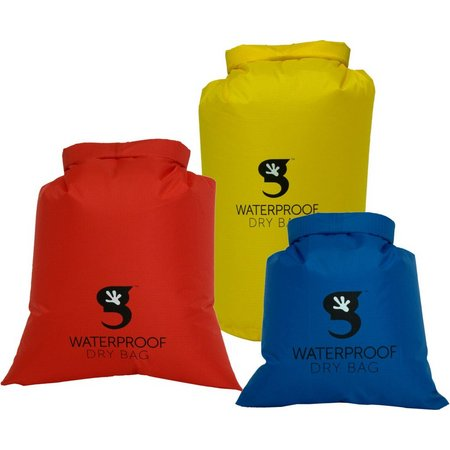Gecko Brands 3-pk. Compression Dry Bags