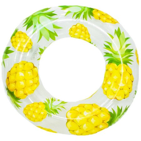 Pool Candy Pineapple Clear Pool Tube