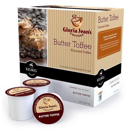 Keurig K-Cup Gloria Jeans Toffee Coffee 18-pk.