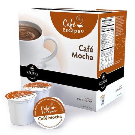 Keurig K-Cup Cafe Escapes Cafe Mocha - 16-pk.