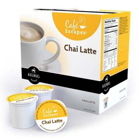 Keurig K-Cup Cafe Escapes Chai Latte Tea -16-pk.