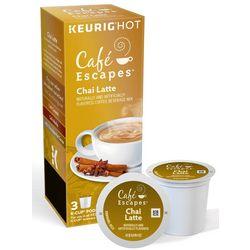 Keurig Cafe Escapes Chai Latte 3-pk.