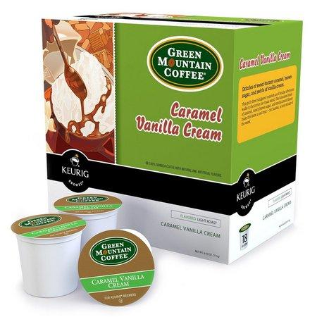 Keurig K-Cup Caramel Vanilla Cream Coffee 18-pk.