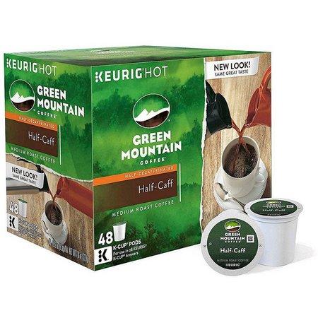 Keurig K-Cup Green Mountain Half Caff Coffee 48-pk.