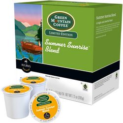Keurig K-Cup Green Mountain Summer Coffee 18-pk