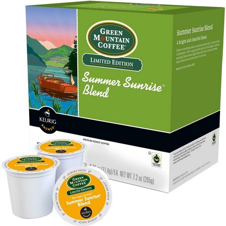 Keurig K-Cup Green Mountain Summer Coffee 18-pk