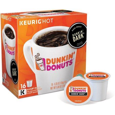 Keurig K-Cup Dunkin Donuts Dark Roast - 16-pk.