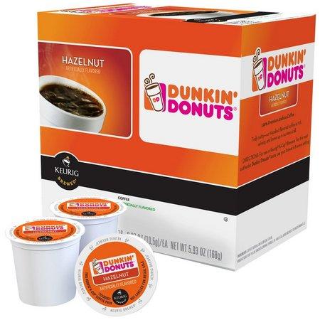 Keurig K-Cup Dunkin Donuts Hazelnut Coffee 16 pk.