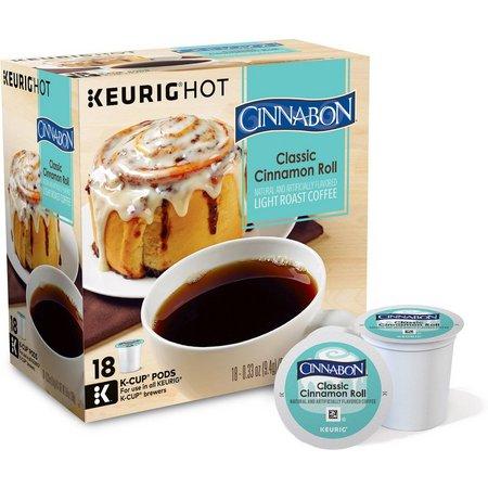 Keurig K-Cup Classic Cinnamon Roll 18-pk.