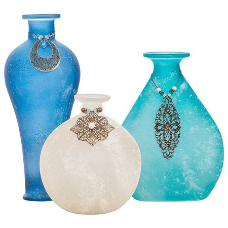 San Miguel 3-pc. Skylar Vase Set