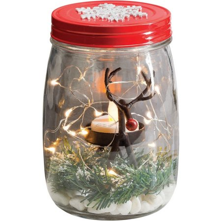 San Miguel Reindeer Light Jar