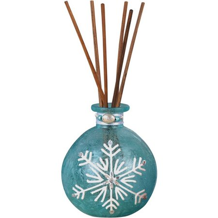 San Miguel Blue Glass Snowflake Diffuser