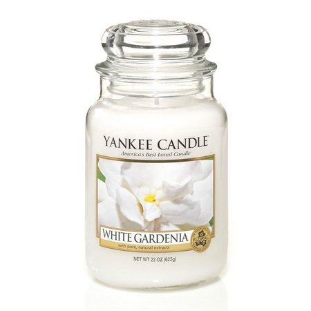 Yankee Candle 22 oz. White Gardenia Jar Candle