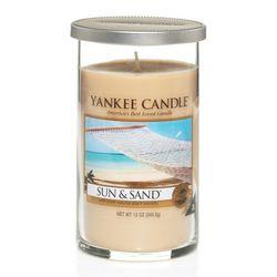 Yankee Candle Sun & Sand Pillar Candle