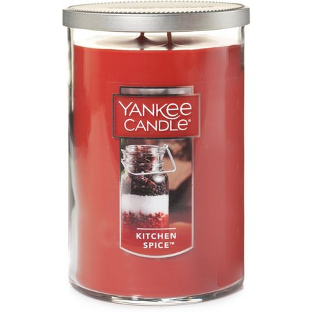 Yankee Candle Kitchen Spice Pillar Candle