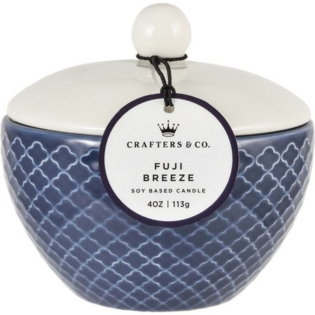 Crafters & Co. Fuji Breeze Soy Ceramic Jar