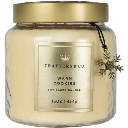 Crafters & Co. 16 oz Warm Cookies Soy