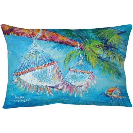 Leoma Lovegrove Take Five Outdoor Pillow