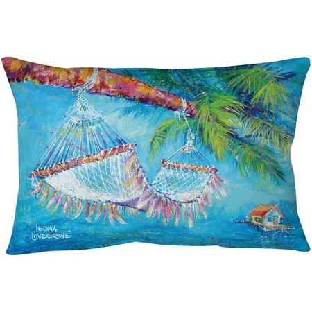 Leoma Lovegrove Take Five Outdoor Pillow