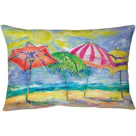 Leoma Lovegrove Gotcha Covered Outdoor Pillow
