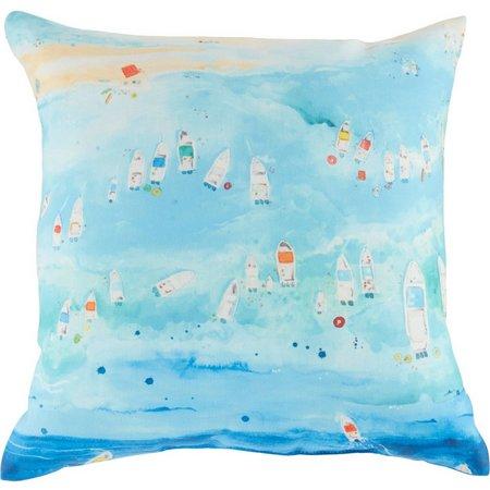 Amber Moran Florida Sandbar Outdoor Pillow