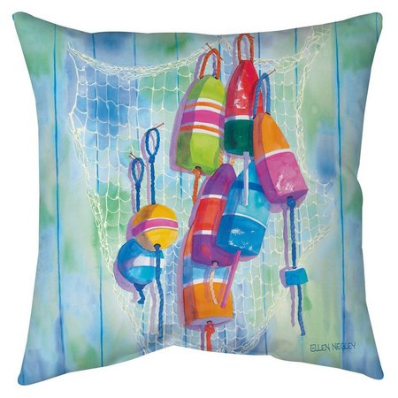 Ellen Negley Oh Buoy Decorative Pillow