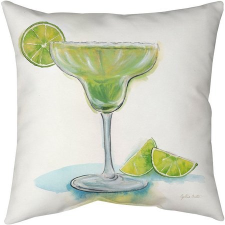 Manual Woodworkers Happy Hour Margarita Decorative Pillow