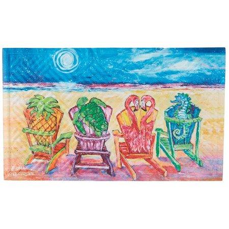 Leoma Lovegrove Front Row Seats Outdoor Mat